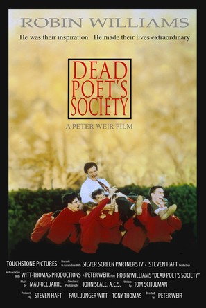 Dead Poets Society - Movie Poster (thumbnail)