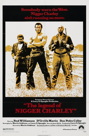 The Legend of Nigger Charley - Movie Poster (thumbnail)