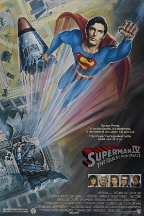 Superman IV: The Quest for Peace - Movie Poster (thumbnail)