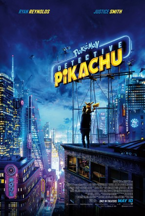 Pokémon: Detective Pikachu - Movie Poster (thumbnail)