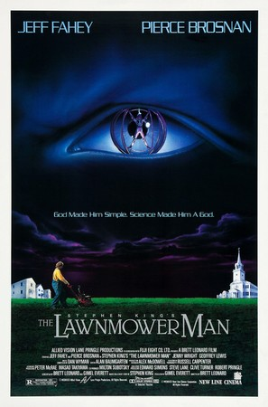The Lawnmower Man - Theatrical movie poster (thumbnail)