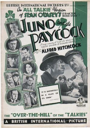 Juno and the Paycock - British Movie Poster (thumbnail)