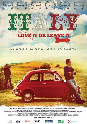 Italy: Love It, or Leave It - Italian Movie Poster (thumbnail)