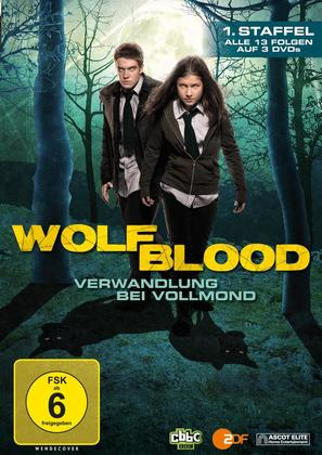 """Wolfblood"" - German DVD movie cover (thumbnail)"