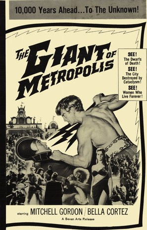 Il gigante di Metropolis - British Movie Poster (thumbnail)
