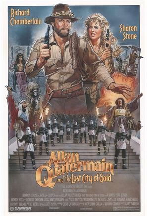 Allan Quatermain and the Lost City of Gold - Movie Poster (thumbnail)