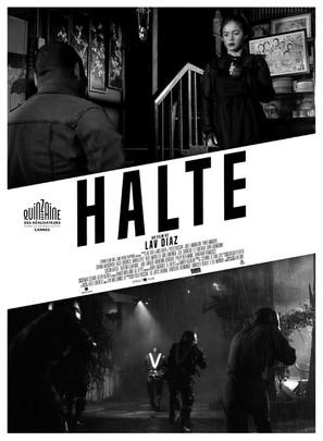 The Halt - French Movie Poster (thumbnail)