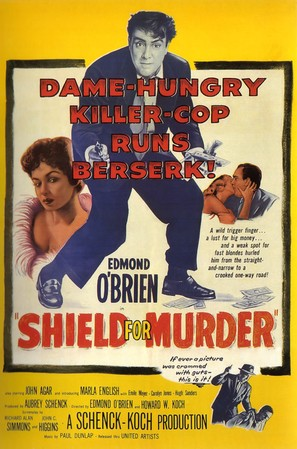 Shield for Murder - Movie Poster (thumbnail)