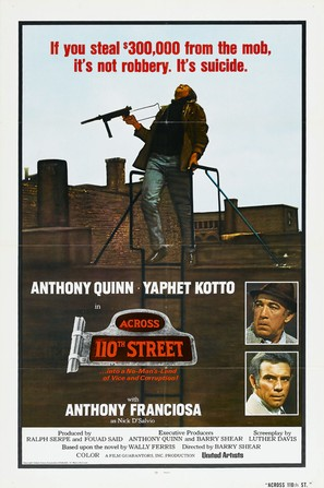 Across 110th Street - Movie Poster (thumbnail)