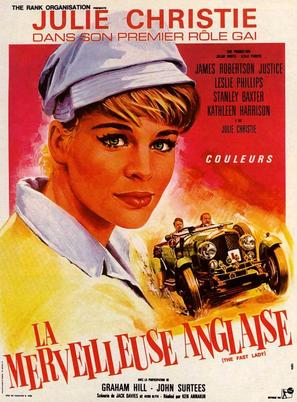 The Fast Lady - French Movie Poster (thumbnail)