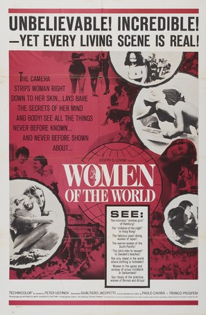 La donna nel mondo - Movie Poster (thumbnail)