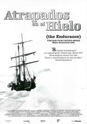 The Endurance: Shackleton's Legendary Antarctic Expedition - Spanish Movie Poster (thumbnail)