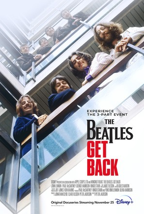 The Beatles: Get Back - Movie Poster (thumbnail)