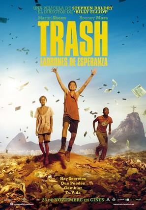 Trash - Spanish Movie Poster (thumbnail)