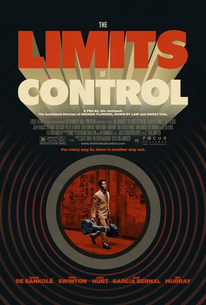 The Limits of Control - Theatrical movie poster (thumbnail)