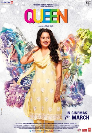 Queen - Indian Movie Poster (thumbnail)