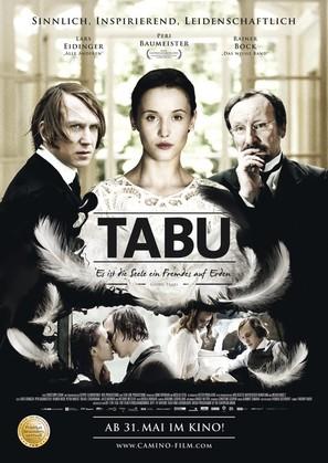Tabu - Es ist die Seele ein Fremdes auf Erden - German Movie Poster (thumbnail)