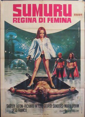 Die sieben Männer der Sumuru - Italian Movie Poster (thumbnail)