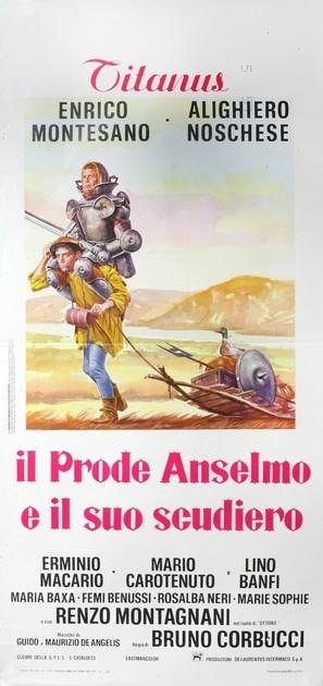 Il prode Anselmo e il suo scudiero - Italian Movie Poster (thumbnail)