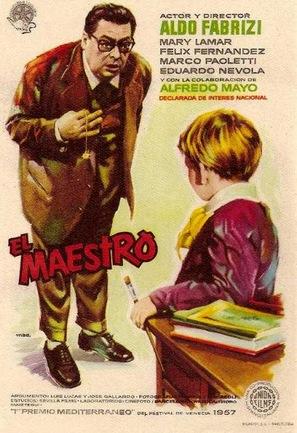 El maestro - Spanish Movie Poster (thumbnail)
