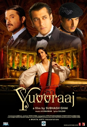 Yuvvraaj - Indian Movie Poster (thumbnail)
