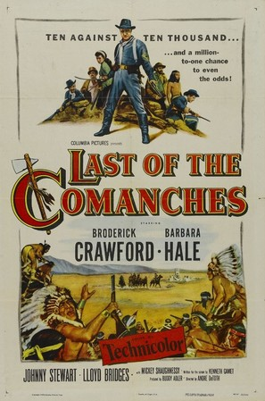 Last of the Comanches - Movie Poster (thumbnail)