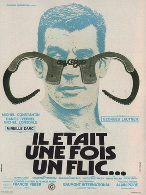 Il était une fois un flic... - French Movie Poster (thumbnail)