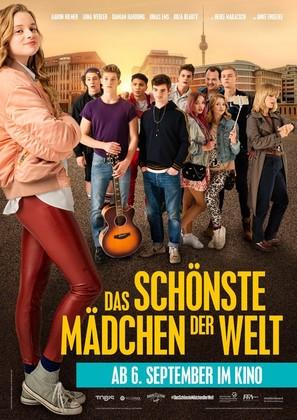 Das schönste Mädchen der Welt - German Movie Poster (thumbnail)