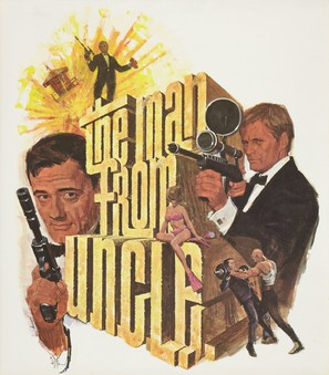 """""""The Man from U.N.C.L.E."""" - Movie Poster (thumbnail)"""