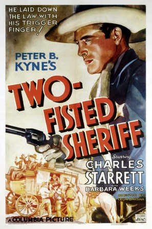Two Fisted Sheriff - Movie Poster (thumbnail)