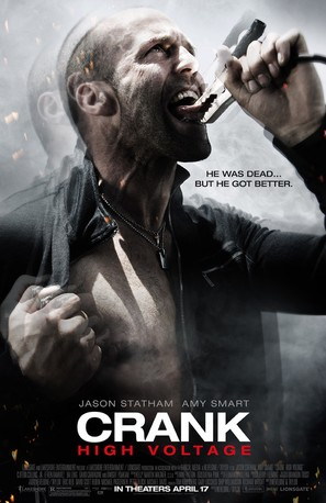 Crank: High Voltage - Movie Poster (thumbnail)