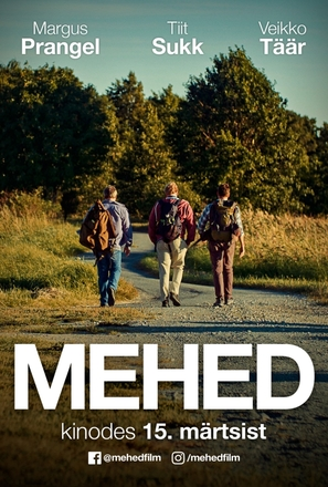Mehed - Estonian Movie Poster (thumbnail)