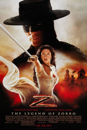 The Legend of Zorro - Movie Poster (thumbnail)