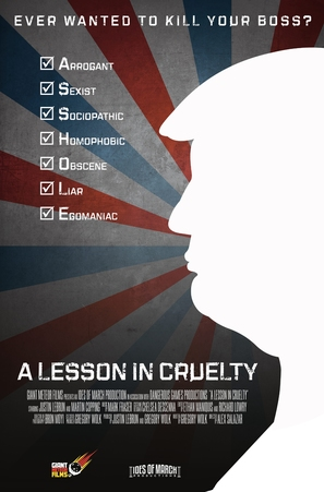 A Lesson in Cruelty - Movie Poster (thumbnail)
