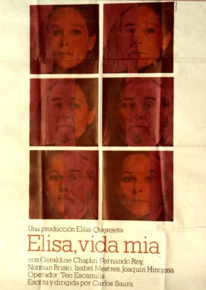 Elisa, vida mía - Spanish Movie Poster (thumbnail)