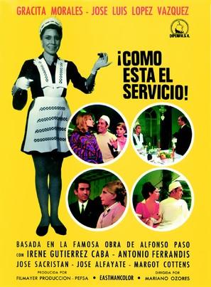 ¡Cómo está el servicio! - Spanish Movie Poster (thumbnail)