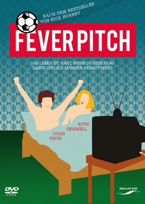 Fever Pitch - German DVD cover (thumbnail)