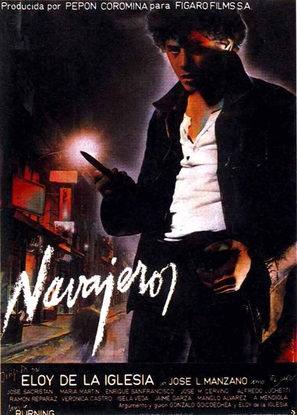 Navajeros - Spanish Movie Poster (thumbnail)