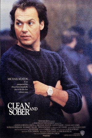 Clean and Sober - Movie Poster (thumbnail)