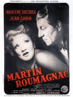 Martin Roumagnac - French Movie Poster (thumbnail)