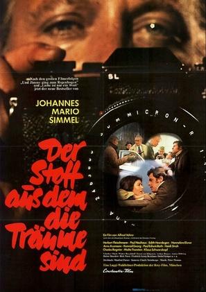 Der Stoff aus dem die Träume sind - German Movie Poster (thumbnail)