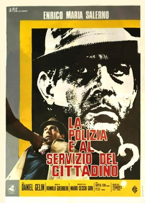 La polizia è al servizio del cittadino? - Italian Movie Poster (thumbnail)