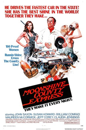 Moonshine County Express - Movie Poster (thumbnail)