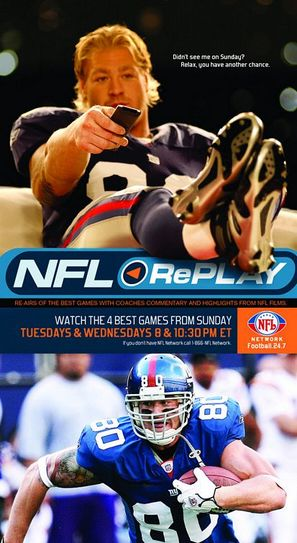 """NFL Replay"" - Movie Poster (thumbnail)"