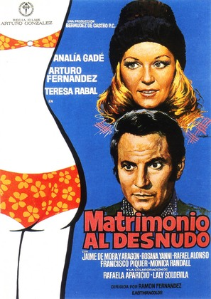 Matrimonio al desnudo - Spanish Movie Poster (thumbnail)
