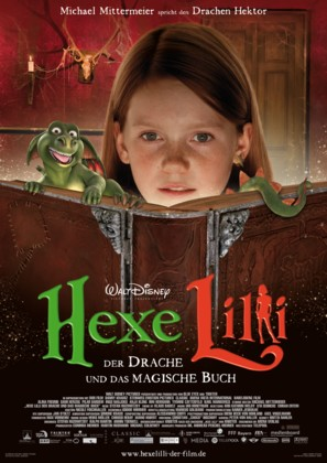 Hexe Lilli - German Movie Poster (thumbnail)