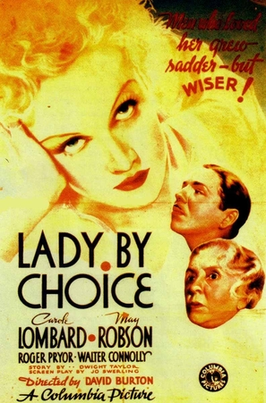 Lady by Choice - Movie Poster (thumbnail)