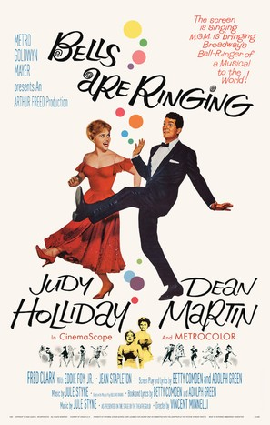 Bells Are Ringing - Movie Poster (thumbnail)