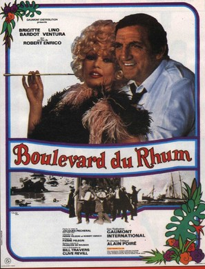 Boulevard du rhum - French Movie Poster (thumbnail)
