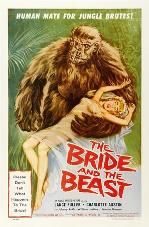 The Bride and the Beast - Movie Poster (thumbnail)